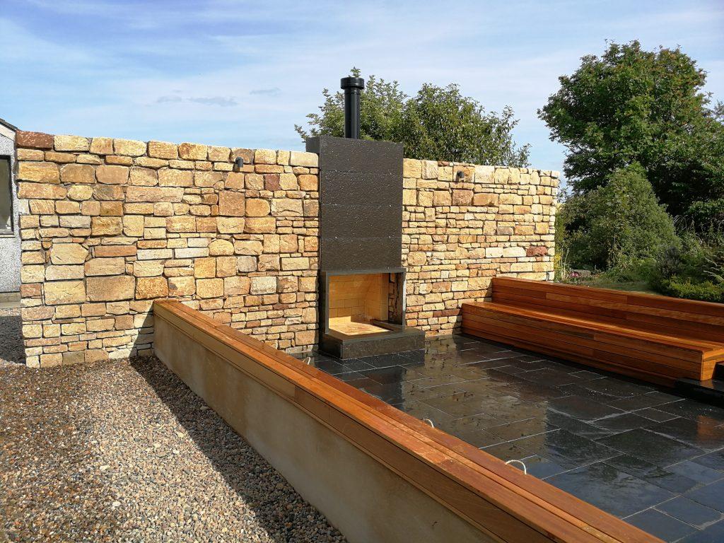 Naqtural Stone Wall