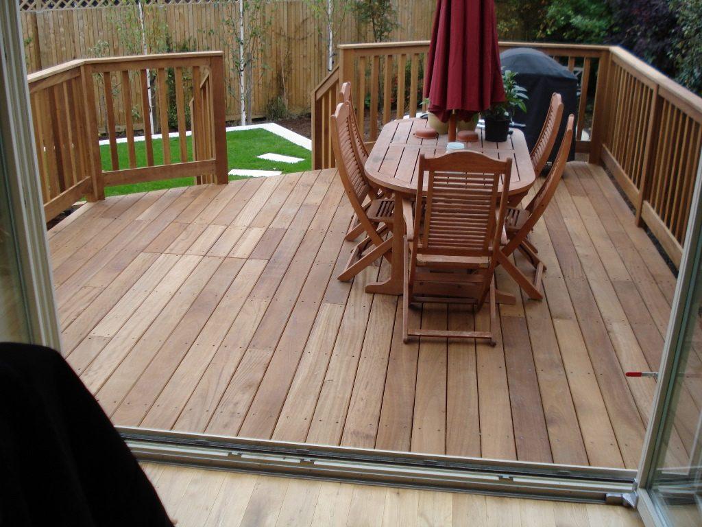Hard Wood Deck